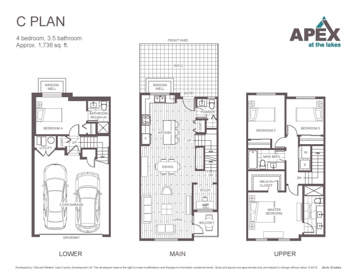 Brilliant Apex At The Lakes   Lake Country Townhomes   New Homes Apex Floor Plans Photo