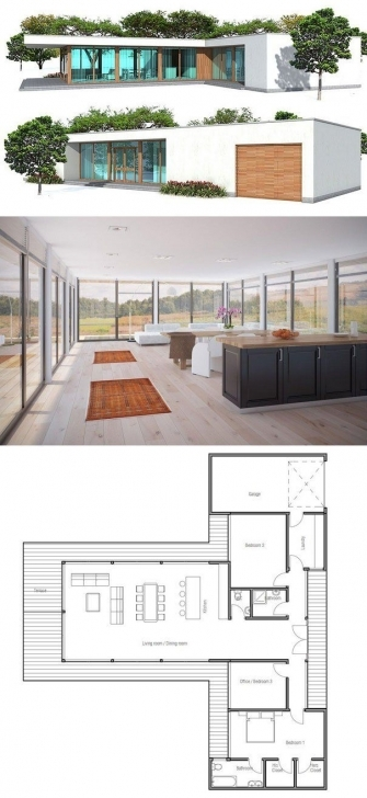 Classy Minimalist House Design. Add Basement, Add Stairs (Maybe Where The Minimalist House Plans Picture