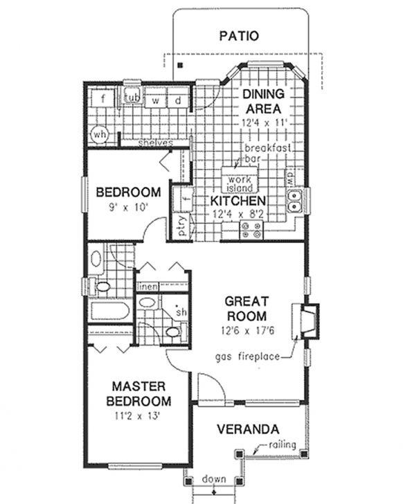 Classy Top House Plans 900 To 1000 Square Feet - Homeplansme - Home Plans 1000 Square Foot House Plans Picture