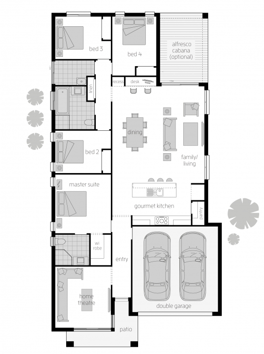 Cool Trinity - Floorplans | Mcdonald Jones Homes Trinity Homes Floor Plans Photo