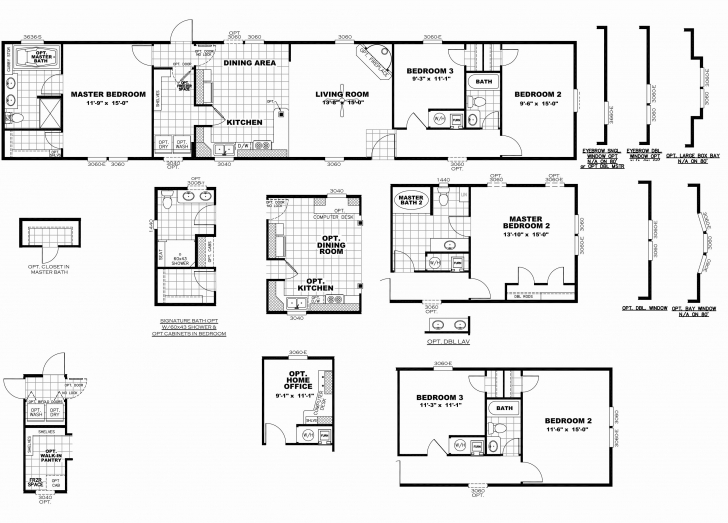 Exquisite 2008 Clayton Mobile Home Floor Plans   Http://viajesairmar Clayton Mobile Home Floor Plans Image