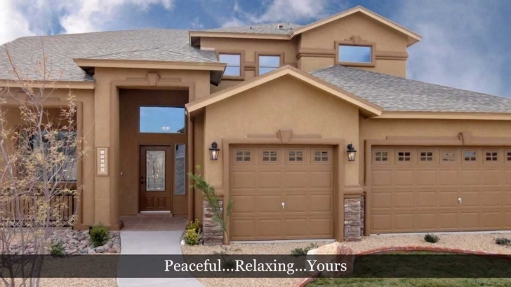 Exquisite 5 Bedroom Home - Santiago Model By Carefree Homes - El Paso, Tx New Carefree Homes Floor Plans Photo