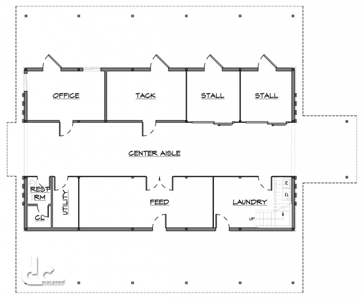 Exquisite Horse Barn Plans And Design - Dc Builders Barn Floor Plans Picture
