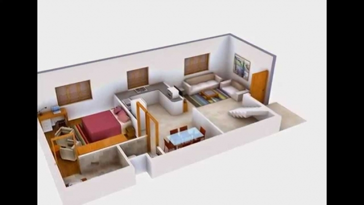 Fascinating 3D Interior Rendering Of House Floor Plans - Youtube House Plans With Interior Pictures Photo