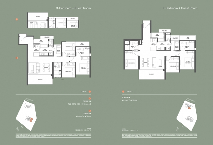 Fascinating Site & Floor Plans | The Clement Canopy Canopy Floor Plan Image