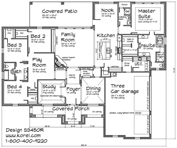 Gorgeous S3450R Texas Tuscan Design | Texas House Plans - Over 700 Proven Floor Plans Texas Photo