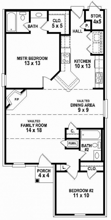 Great House Plans For 2 Bedroom 2 Bath Homes Best Of 20 Lovely Simple 2 2 Bedroom 2 Bath House Plans Photo