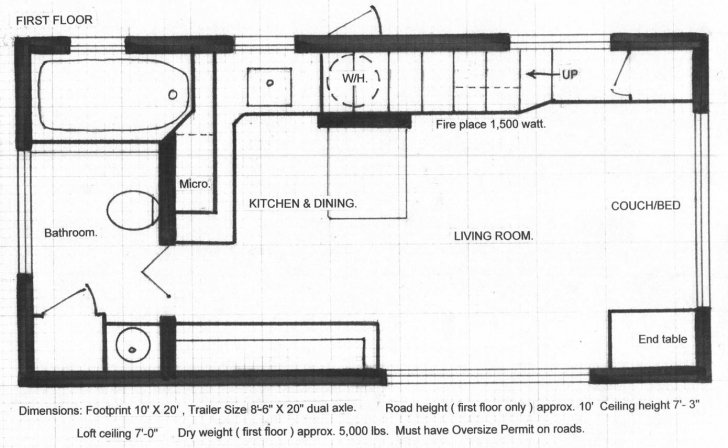 Image of Floor Plans   Tiny House Tiny House Floor Plans Pic