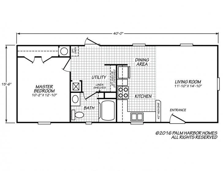 Astonishing 14x40 Cabin Floor Plans Unique 14 40 Cabin Floor Plans