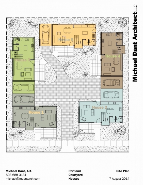 Incredible Small House Plans With Courtyards Lovely Home Design Courtyard House Plans With Courtyard Pic