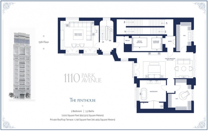 Incredible The 11 Most Mouthwatering New York City Floorplans Of 2014 - Curbed Ny Penthouse Floor Plans Image