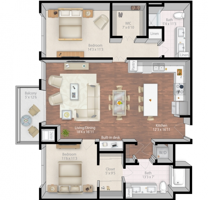 Inspirational Cool Apartment Floor Plans 4 On Other Design Ideas With Hd Luxury Apartment Floor Plans Picture