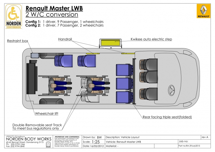 Inspirational Renault Master Wheelchair Conversion: Request A Free Quote Today! Vehicle Floor Plan Photo