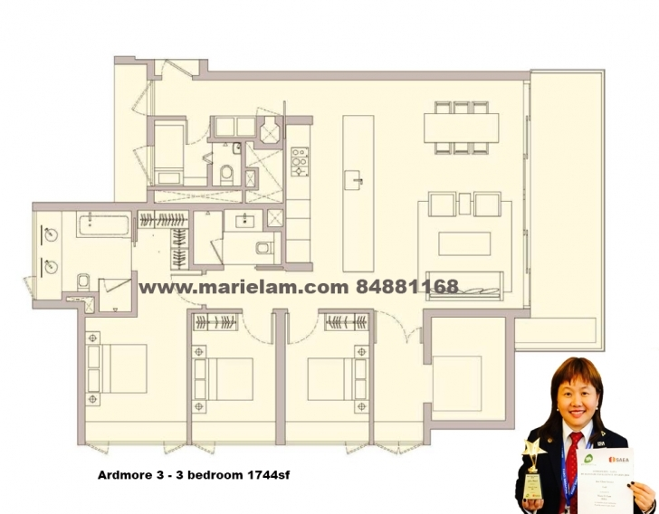 Inspiring Ardmore Three | Hot And New Property Ardmore 3 Floor Plan Pic