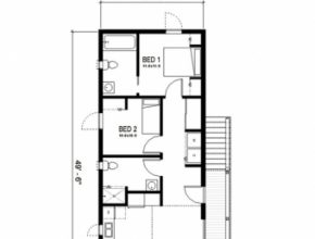 Inspiring New Orleans Cottage House Plan By Freegreen | Small Houses, Cabins Shotgun House Plans Image