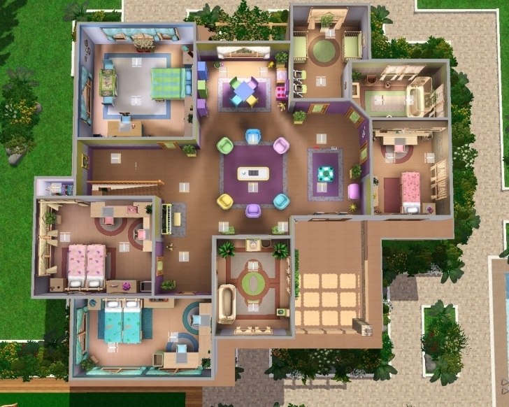 Inspiring Sims 3 Awesome House New Sims Mansion Floor Plans Elegant 23 Sims 3 Mansion Floor Plans Picture