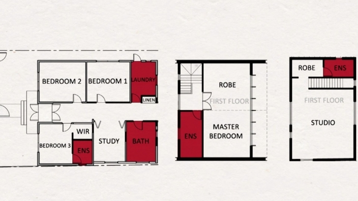 Inspiring What The Blockheads Are Planning For Their Bathrooms Block Beautiful The Block Floor Plans Picture