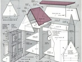 Inspiring Wooden Doll House Plans - Wooden Toy Plans | Кукольные Домики Doll House Plans Picture