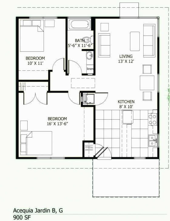 Interesting 1000 Sq Ft House Plans 2 Bedroom Indian Style Lovely House Plans 1000 Square Foot House Plans Photo