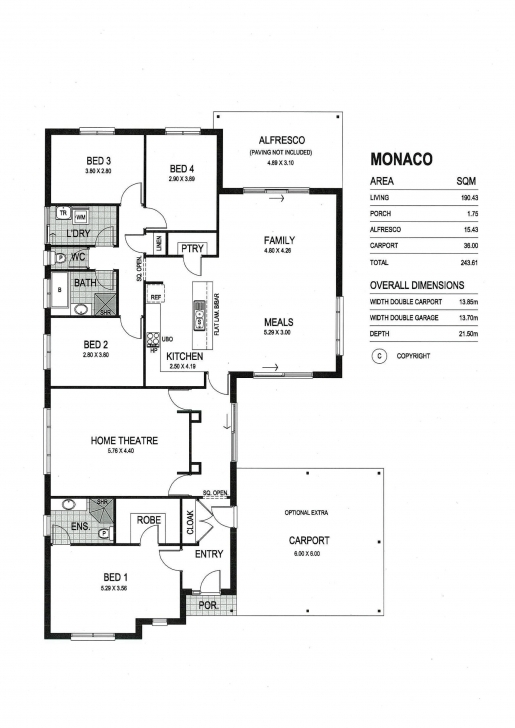 Interesting House Designs & Floor Plans Sa   Package With Land For Sale - 76 Fairmont Floor Plan Pic
