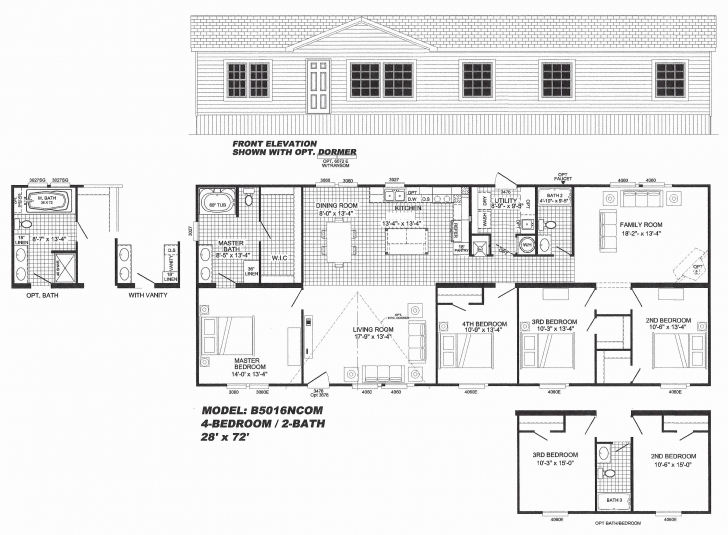 Latest Floor Plans For Manufactured Homes Double Wide Unique Double Wide Double Wide Trailer Floor Plans Photo