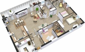 Latest Home Plans 3D | Roomsketcher 3d House Plans Pic