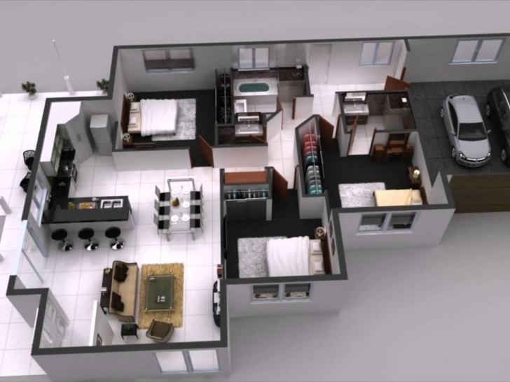 Latest Interactive 3D Floor Plan, 360 Virtual Tours For Home Interior Plan House Plans With Interior Pictures Photo