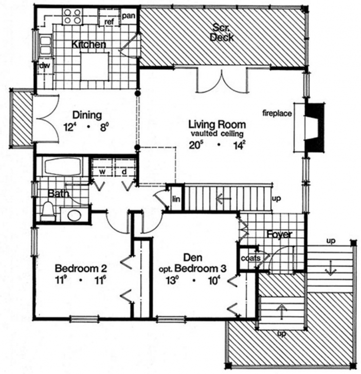 Marvelous Chicago Style Bungalow Floor Plans Chicago Style Bungalow Floor Plans Image