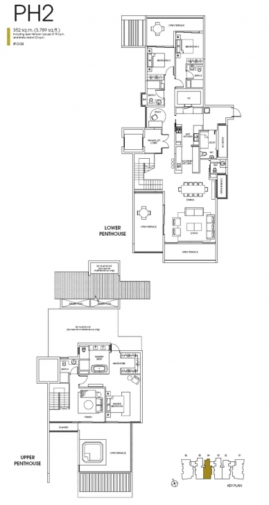 Most Inspiring Floor Plan - The Orange Grove At Orange Grove Road Orange Grove Residences Floor Plan Image