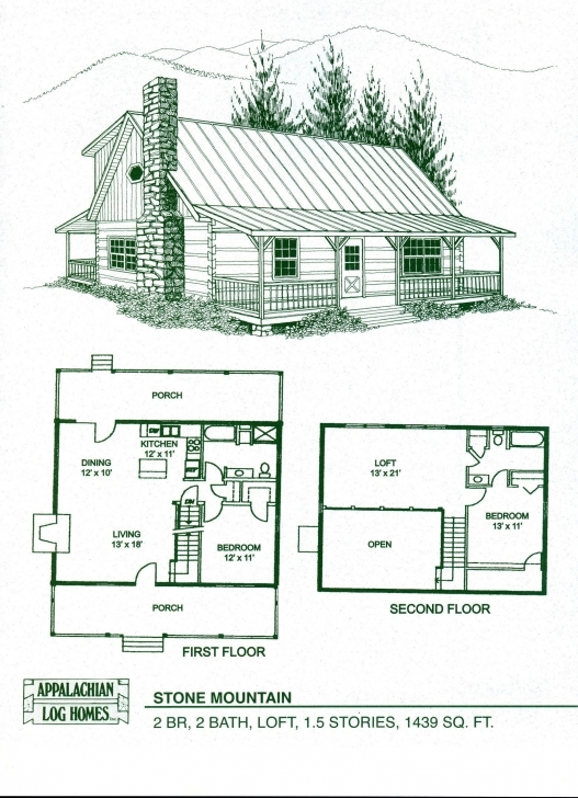 Must See Cabin Home Plans With Loft | Log Home Floor Plans - Log Cabin Kits Log House Plans Photo