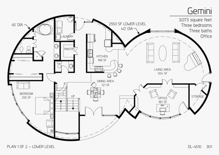 Must See Concrete Dome Homes Floor Plans Best Of Concrete Dome House Plan Dome Home Floor Plans Photo