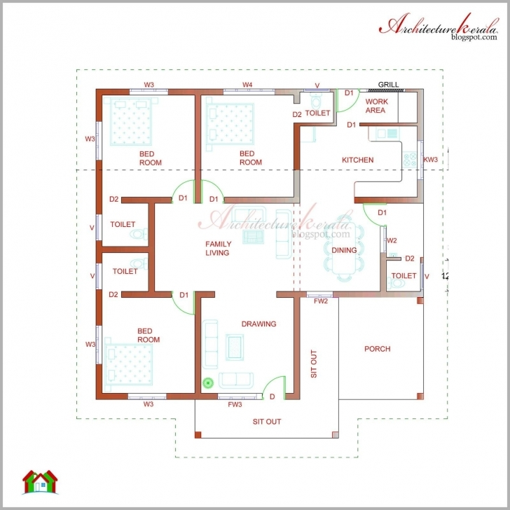 Must See Modern Kerala Style House Plans With Photos New Kerala House Plan Floor Plans Kerala Style Houses Picture