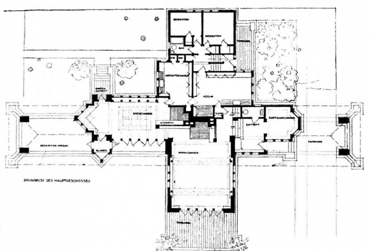 Outstanding House: Frank Lloyd Wright House Plans - Frank Lloyd Wright House Frank Lloyd Wright House Plans Image