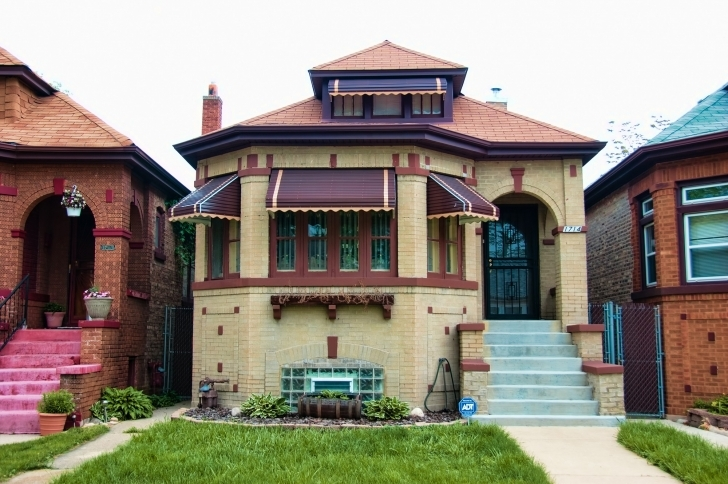 Picture of Chicago Bungalow · Buildings Of Chicago · Chicago Architecture Chicago Bungalow Floor Plans Picture