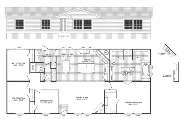 Picture of Floor Plans For 2 Bedroom Mobile Homes, Manufactured Home Designs Floor Plans For Mobile Homes Photo