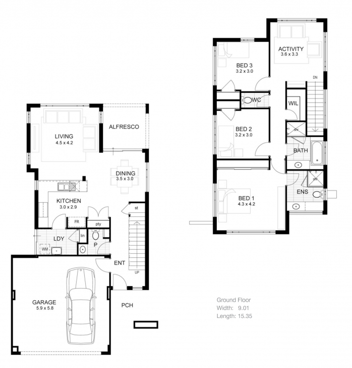 Popular Home Plans With Basement Floor Plans Luxury 2 Bedroom House Designs House Plans With Basements Photo