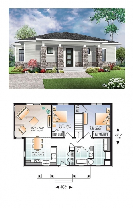 Popular Modern 2 Story Floor Plans | Moongladedesigns Modern House Plans Image