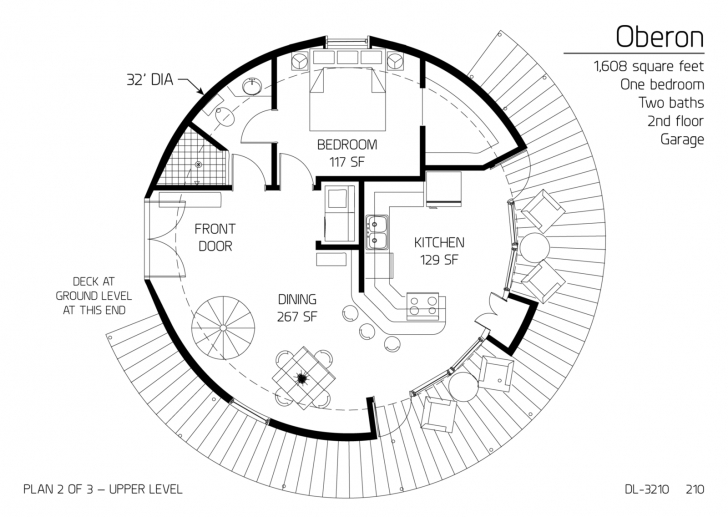 Remarkable Floor Plan: Dl-3210 | Monolithic Dome Institute Dome Home Floor Plans Picture