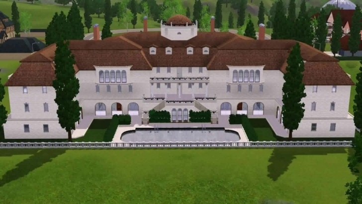 Top Floor Plan Ideas For Sims 3 - Youtube Sims 3 Mansion Floor Plans Photo