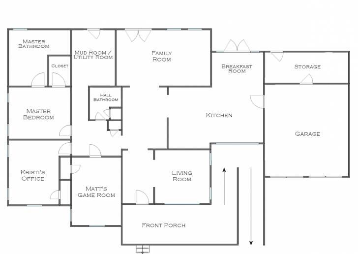Wonderful The Finalized House Floor Plan (Plus Some Random Plans And Ideas!) House Floor Plan Pic